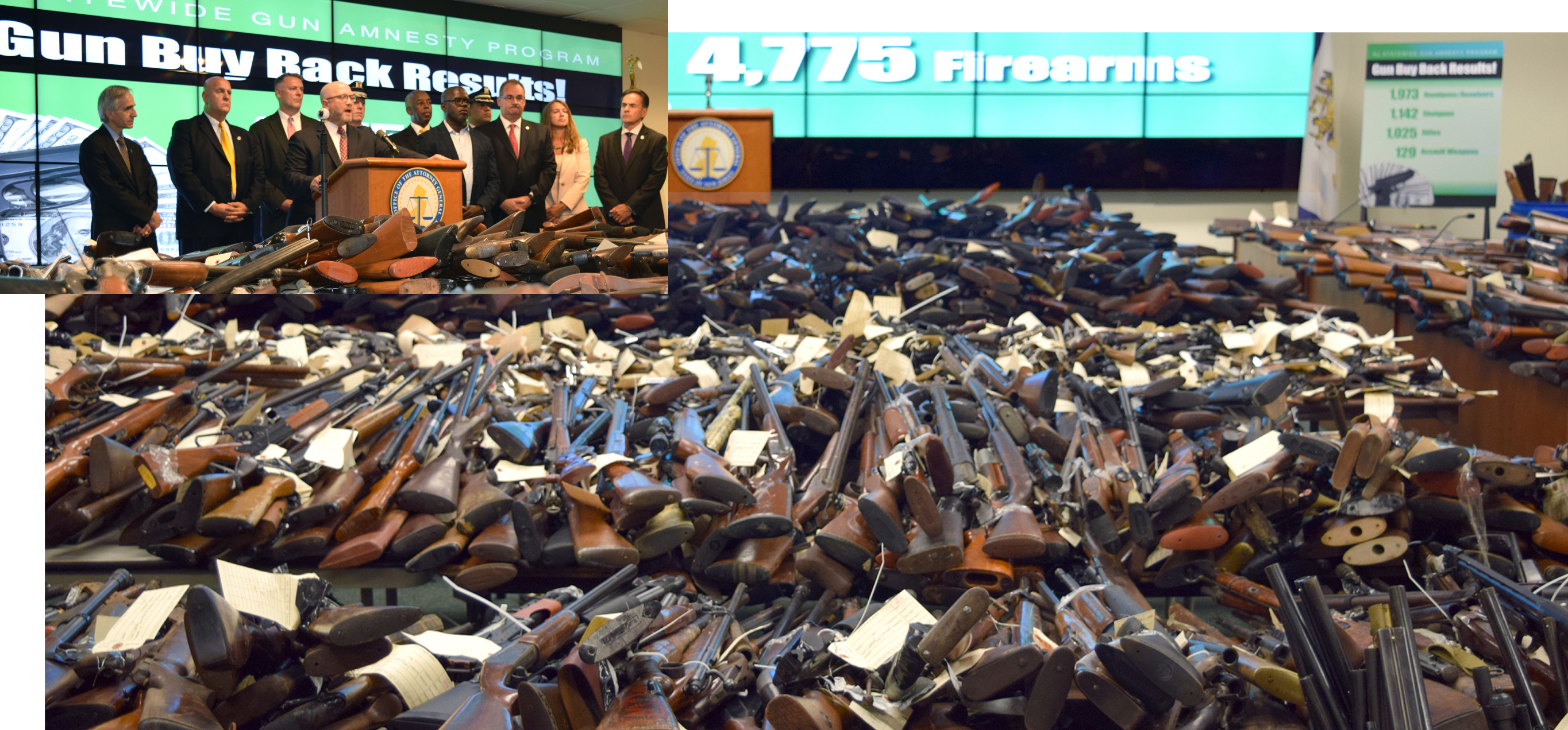 4,775 Guns Collected During the Most Successful Gun Buyback