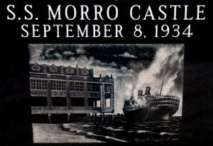 Asbury Park Strong 137 Lost on Morro Castle Steam Ship Fire 1934