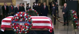 Presidential Message to the Congress on the Death of George Herbert Walker Bush