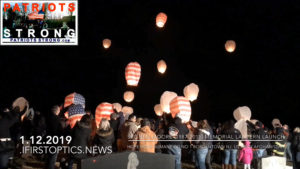Lanterns Lift at Spc Ben Moore's Bordentown Memorial