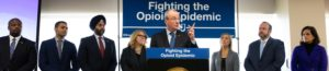 Industrial Opioid Disaster – With 3000+ NJ Deaths, Governor Murphy Announces New Initiatives to Combat the Opioid Epidemic