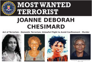 FBI WANTED TERRORIST – Joanne Chesimard First Woman Named to Most Wanted Terrorists List