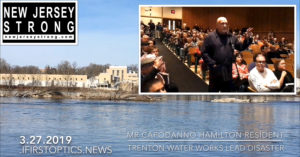 New Jersey Strong Water Disasters – AQUA NOT ALERTING CONSUMERS of Toxic Trenton Water Works Flow into Toxic Aqua System