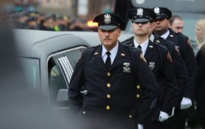 Funeral for Hero Jersey City Detective Seals
